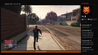 Wuz Up Tiger Strykers, Live Game Play of GTA Online