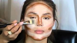 Смотри базовый урок профессионального макияжа!(Правильные черты лица — это не дар божий, а искусство визажа, которому совсем несложно научиться. Секреты..., 2015-05-06T12:18:32.000Z)