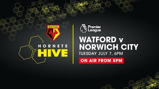 HORNETS HIVE | WATFORD VS NORWICH CITY