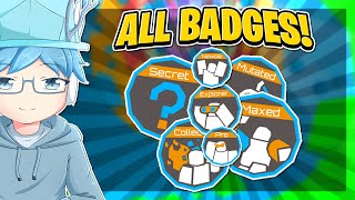 [UPDATED] How to get EVERY BADGE in TOWER OF HELL | Roblox ToH