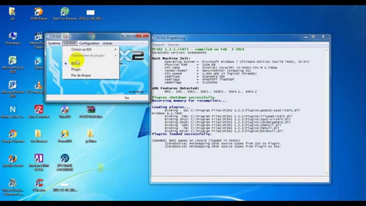 pcsx2 0.9.6 avec bios et plugins