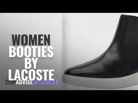Top 10 Lacoste Women Booties [2018]: Lacoste Women's Rochelle Chelsea 317 1 Fashion Ankle Boot,
