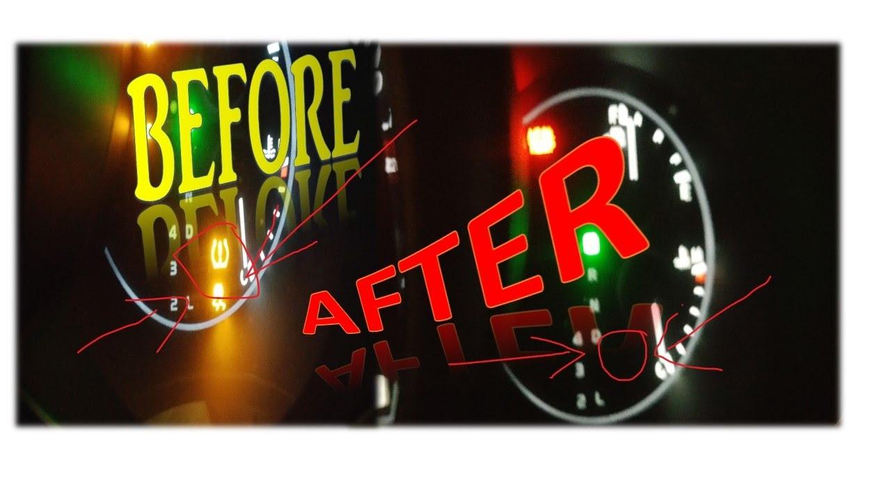 Tps Light Keeps Blinking Tire Pressure Nissan Sentra Youtube