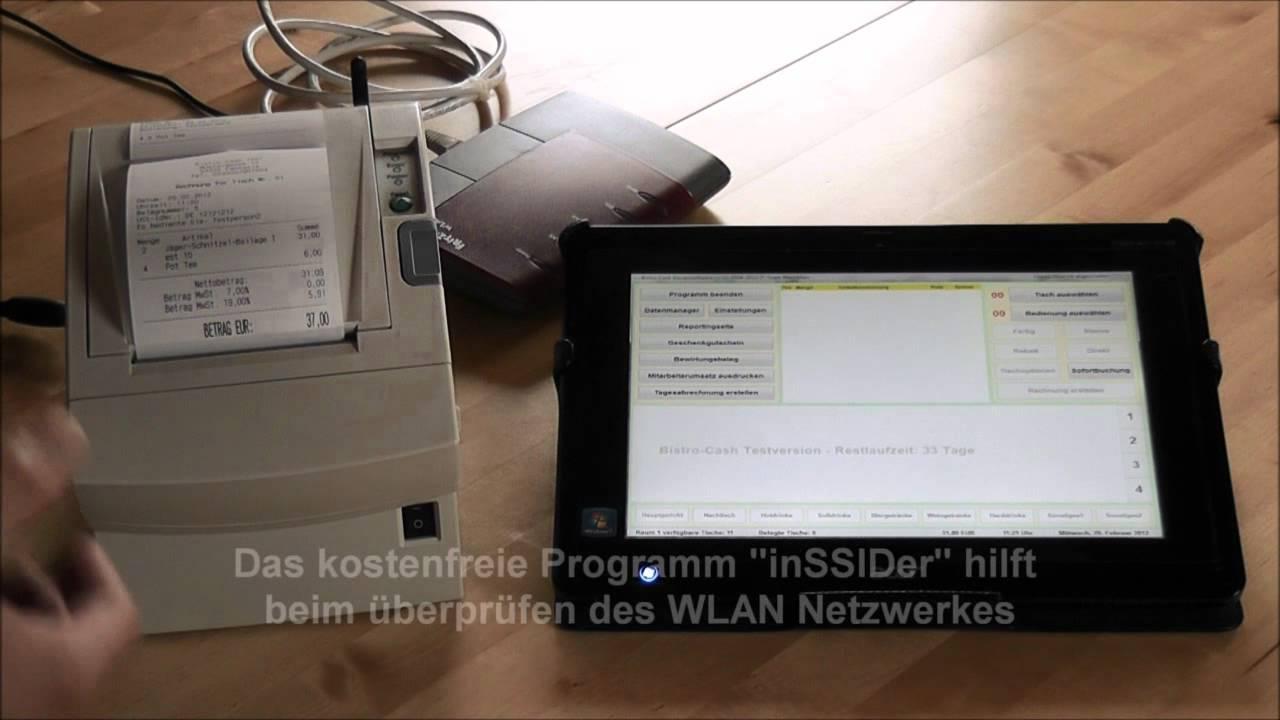 Windows Tablet PC Acer ICONIA Als Mobile Gastronomie