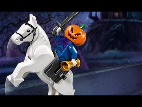 Lego Scooby - Doo : Daphne Blake Vs The Headless Horseman