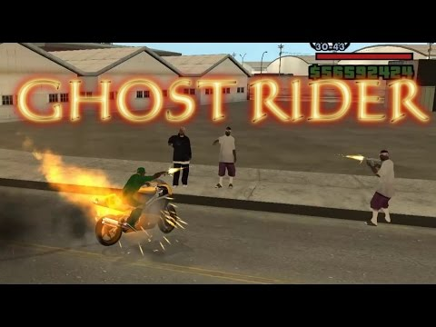 gta sa ghost rider bike mod android