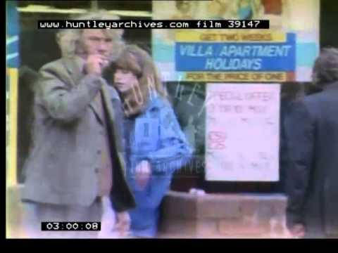 Warrington City Centre, 1980's - Film 39147