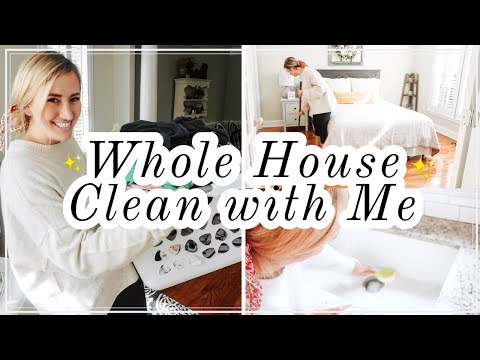 *NEW!* ULTIMATE WHOLE HOUSE CLEAN WITH ME (2019) | EXTREME CLEANING MOTIVATION FOR BUSY MOMS