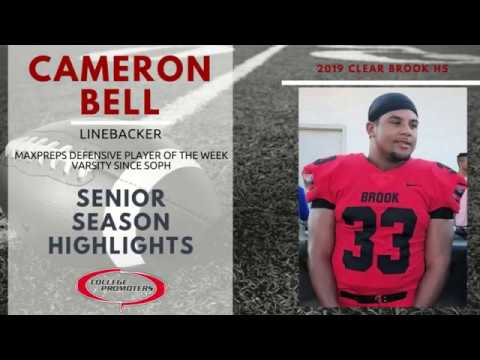 Profile - Football - 2019 - Cameron Bell - College Promoters USA