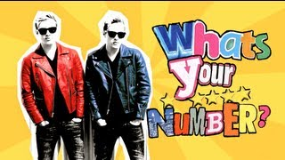 Jedward - WHATS YOUR NUMBER (Lyric Video)