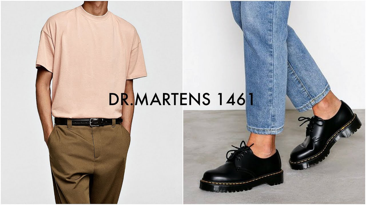 How to Style Dr Martens | Mens Fashion Lookbook