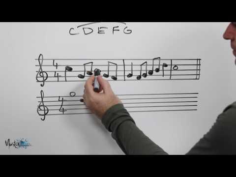 125 Demonstration of transposing using intervals