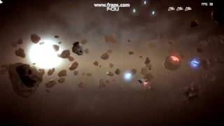 Asteroids game gameplay (new)