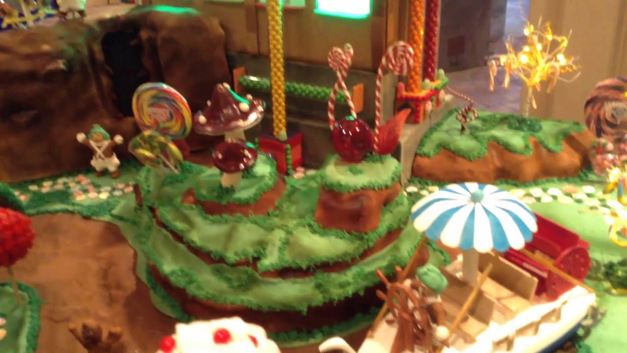 Willy Wonka  The Chocolate Factory Gingerbread House