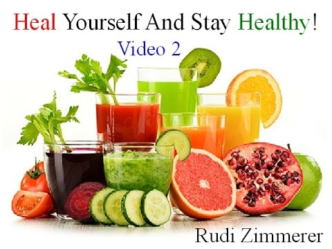 How to heal yourself and stay healthy? How to prevent heart attack? How to heal diabetes?
