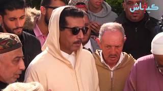 مقبرة الشهداء/ كازا.. حزن ودموع الخيام في جنازة والدته
