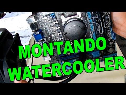 Montando e Instalando Watercooler