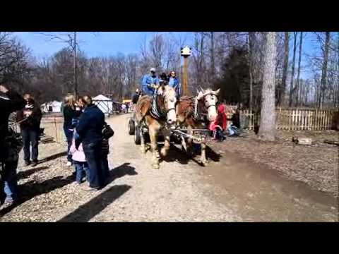 National Maple Syrup Festival In Medora Indiana