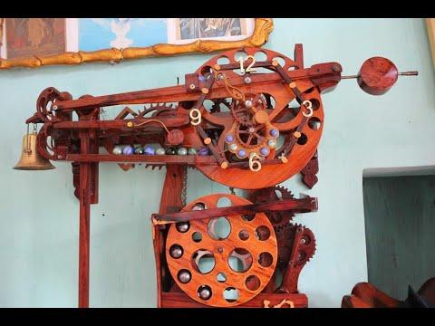 Đồng Hồ Gỗ -- đồng Hồ Treo Tường Tự Làm Bằng Gỗ Chạy Tự động # Nhất Việt Nam - Woodworking Art 1