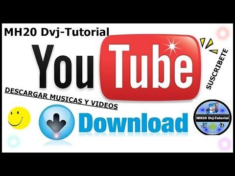 FACIL.! COMO DESCARGAR MUSICAS Y VIDEOS DE YOUTUBE 2018 MH20