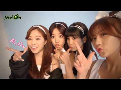 Kpop Apink 'Mr Chu' Making of MV
