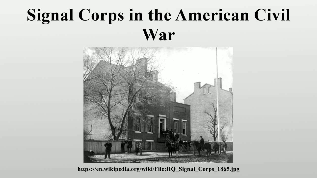 Signal corps in the american civil war youtube publicscrutiny Images