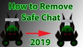 How to Remove Safe Chat / Hashtags on ROBLOX 2019 April (In 2 Minutes!)