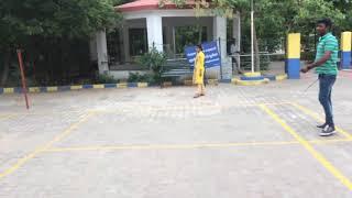 Chennai badminton practice