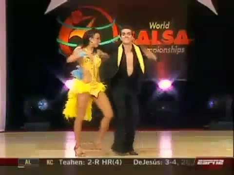 Oliver Pineda & Luda Krotior 1st Place World Salsa Championships