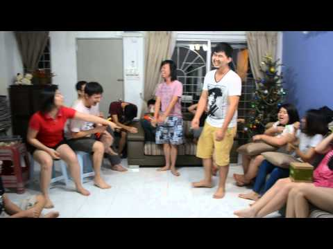 A punishment in Ken's present. ( Find a partner and dance)