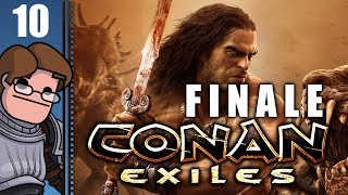 Let's Play Conan Exiles Multiplayer Part 10 FINALE - Walking Away