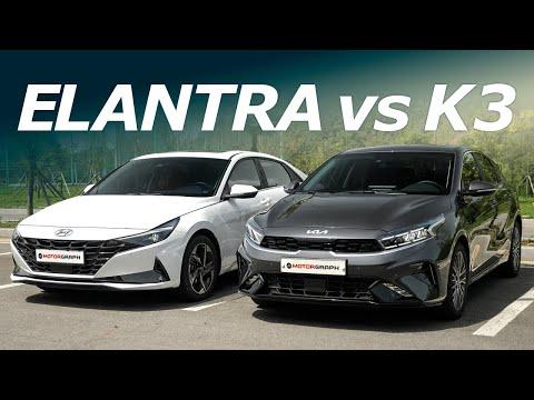 "New 2022 Kia K3 (Forte) vs. Hyundai Elantra ""The New Platform Matters"""