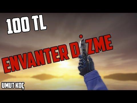 CS GO - 100 TL Envanter Dizme