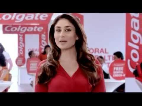 Colgate Oral Health Month - Kareena Kapoor - YouTube