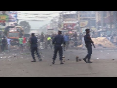 afpes: Seis muertos en represión de manifestaciones en RD del Congo