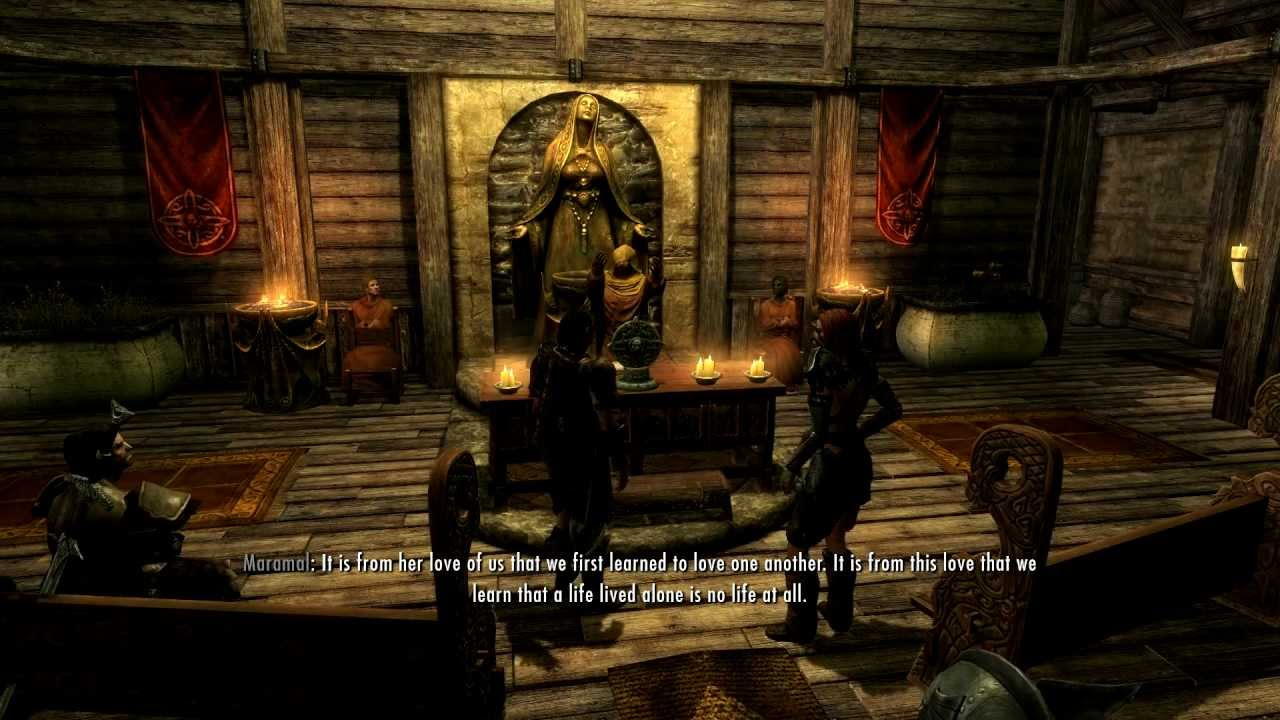 Skyrim Tutorial How To Divorce Your Spouse Without Killing Him