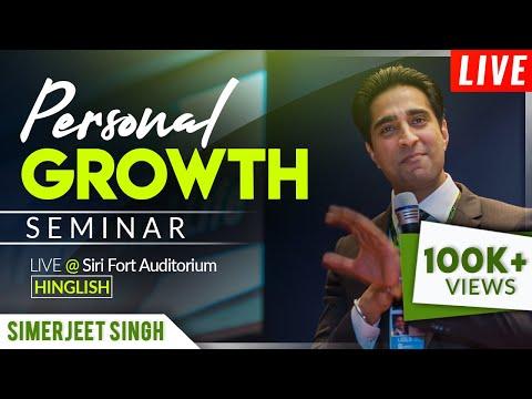Inspirational Speaker India Simerjeet Singh | LIVE Seminar Video in Hindi + English and Hinglish