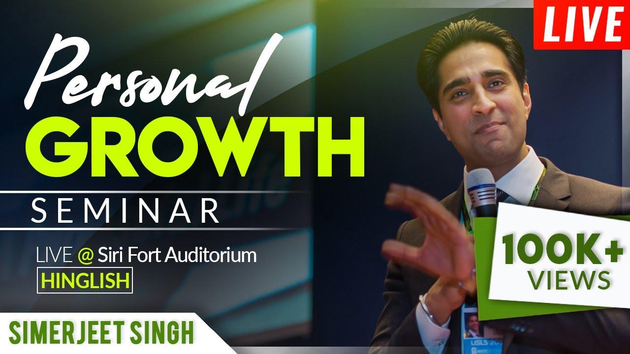 Inspirational Speaker India Simerjeet Singh | LIVE Inspirational Seminar |  Keynote Speakers India
