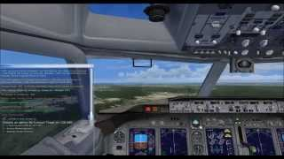 FSX-Sunwing Airlines 737-800 MUVR to MMUN