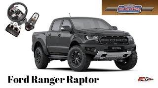 Ford Ranger Raptor - обзор, тест драйв City Car Driving