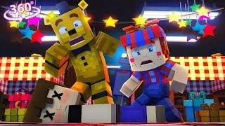 Fnaf Vr - Nightmare Balloon Boy Vision - Minecraft 360° Vr Video