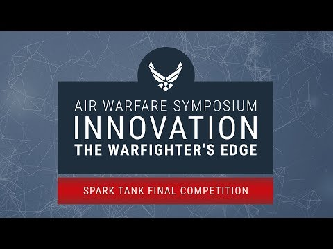 2018 Air Warfare Symposium - Spark Tank Final Competition