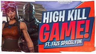 SICK TEAMWORK WITH FAZE SPACELYON! HIGH KILL DUO (Fortnite BR Full Game)