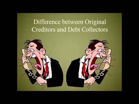 Original Creditor vs. Debt Collector - How are they Different or the Same in Debt Law?