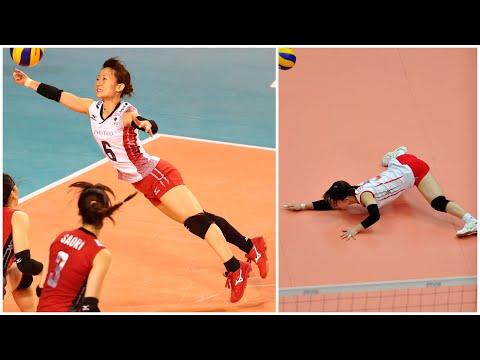 159cm Crazy Volleyball Libero Yuko Sano (HD)