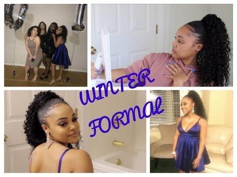 WINTER FORMAL 2018 - GRWM