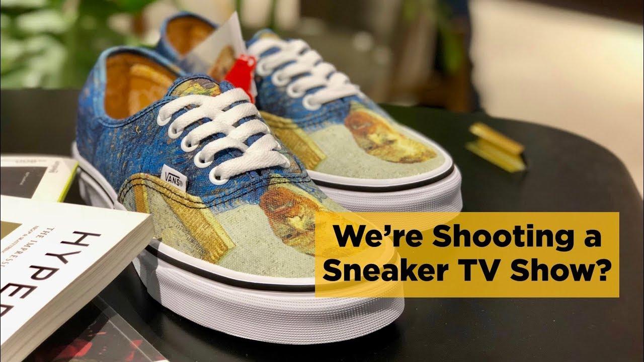 c7529d50984f Sneaker Shopping Vlog  VANS x VAN GOGH