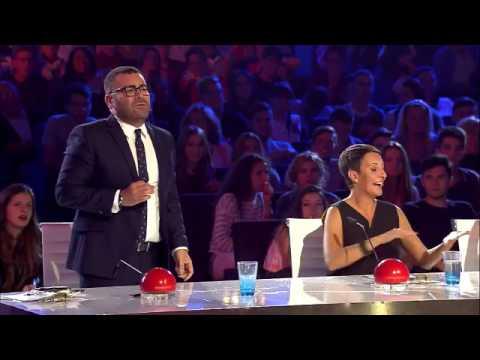 "Indian Bollywood Dance on ""Spain got talent"""