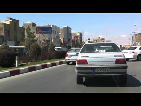 Mashhad, Iran خيابان هاي مشهد