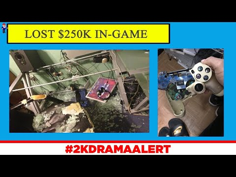 2K PLAYER RAGES AFTER LOSING $250,000, EVERYONE REACTS TO NADEXE TERMINATION